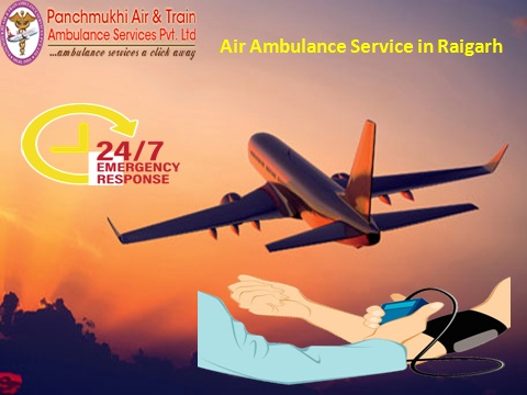 Air Ambulance service in Raigarh